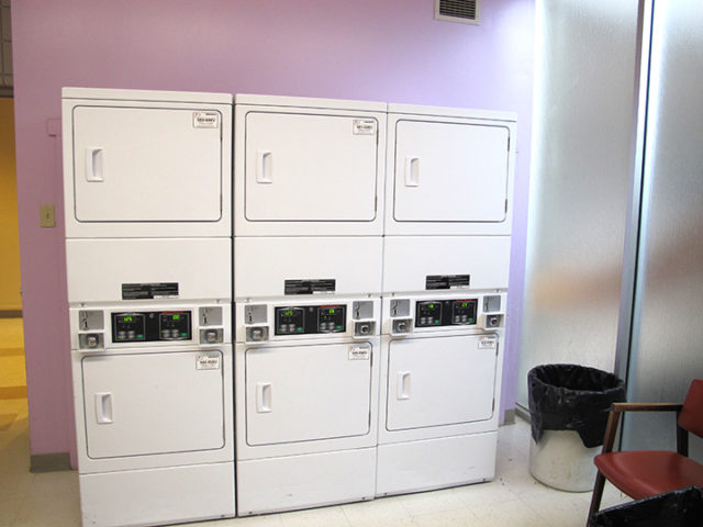 Washer Dryer Area